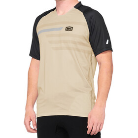100% Celium Enduro/Trail Jersey Heren, warm grey/grey